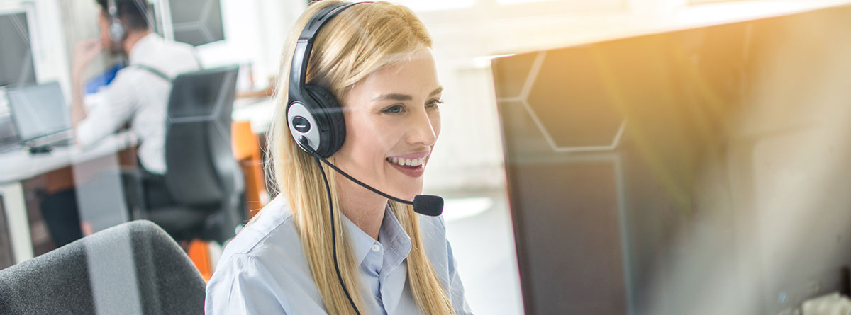 customer service page banner image