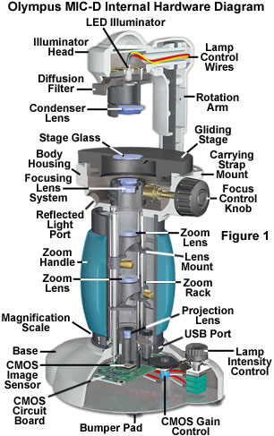 Anatomy of the mic d digital microscope overview ccuart Choice Image